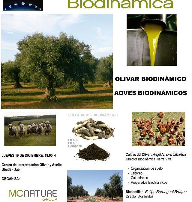 Jornada sobre el cultivo del olivar en Agricultura Biodinámica